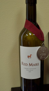 Red Mare is an award winning wine.