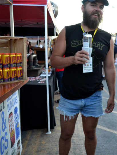 The man who loved his shorts and also beer.