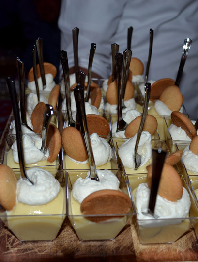 Banana pudding shooters were pretty wonderful. I could have easily eaten these the entire evening.