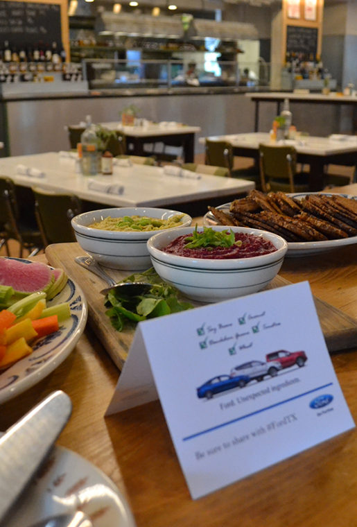 A few of the inspired eats served during the event.