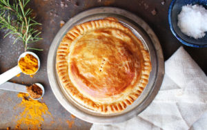 Peckish Pie's pot pie. Photo courtesy of Peckish Pie.