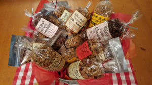 A bunch of great granola. Photo courtesy of White Rock Granola.